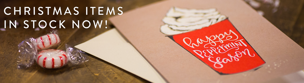 Christmas Cards - Peppermint Latte - Holiday Season