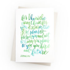 Encouraging Bible Verse Notecards