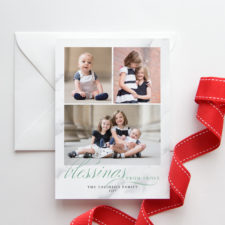 Religious Blessings Christmas Cards