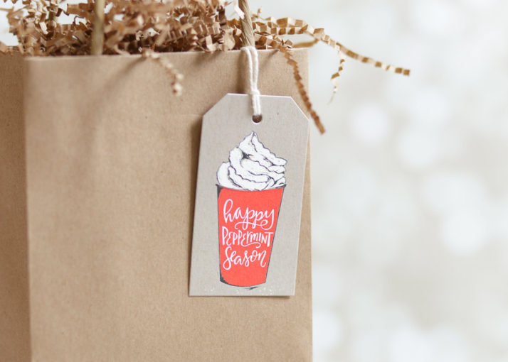 Winter Gift Tag